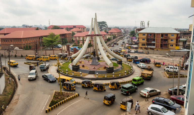 DMGS RoundAbout and Zik's Statue - Ime Obi Onitsha